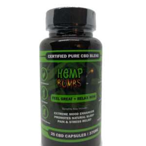 Hemp Bombs CBD Capsules 25ct