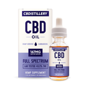 CBDISTILLERY 5000mg CBD Oil