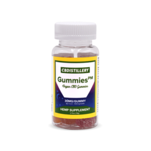 CBDISTILLERY 30mg Night Time CBD Gummies