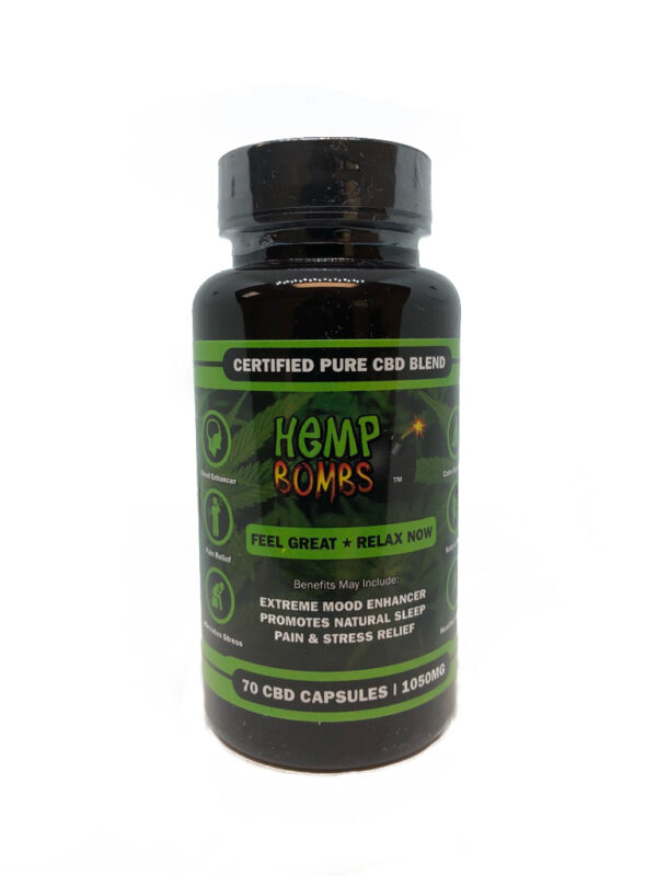 Hemp Bombs Capsules 70ct