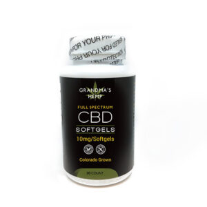 300mg CBD Softgels